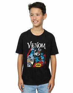 Marvel Boys Venom Read Our Lips T-Shirt