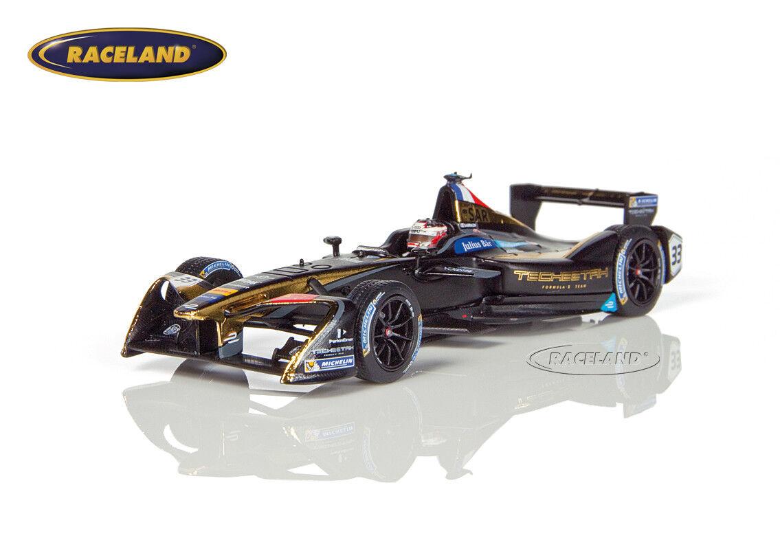 Techeetah Formula E Team 3 ° nouveau York 2016  2017 Stéphane Sarrazin, SPARK 1 43  branché