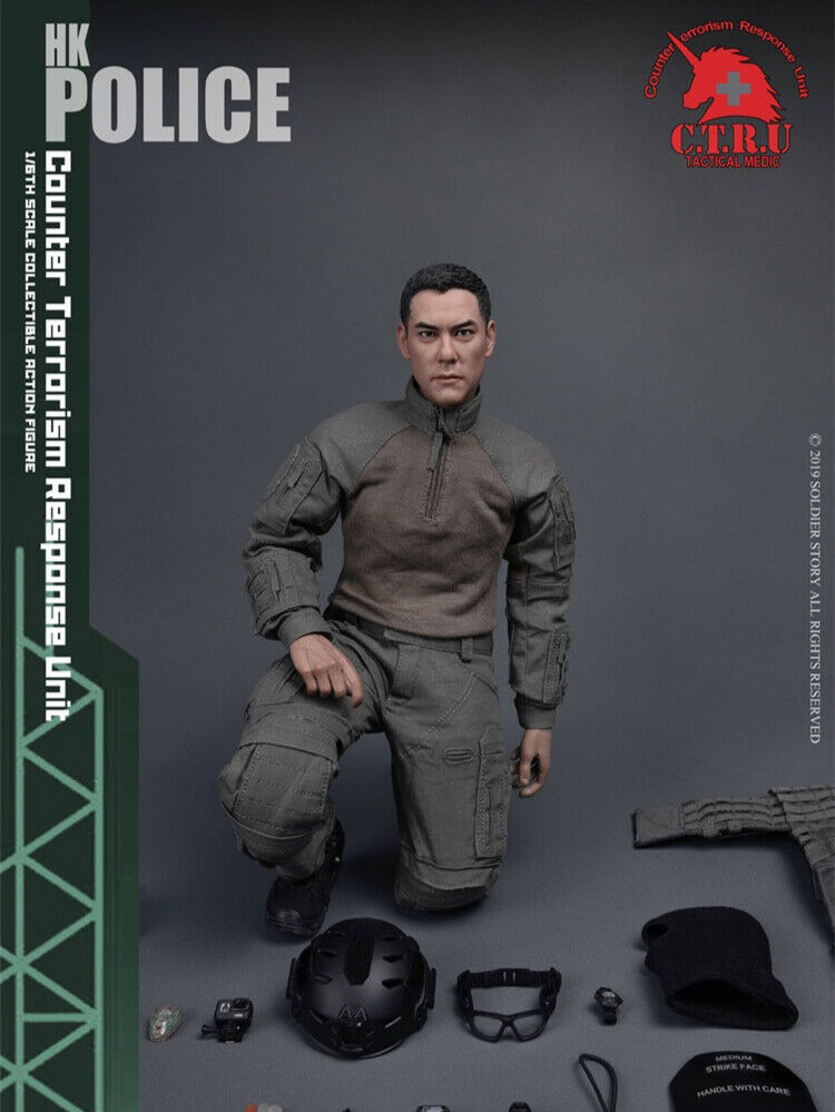 Pre-order 1 6 Scale Soldier Story SS-116HK POLICE Tactical Soldier 12in Figure