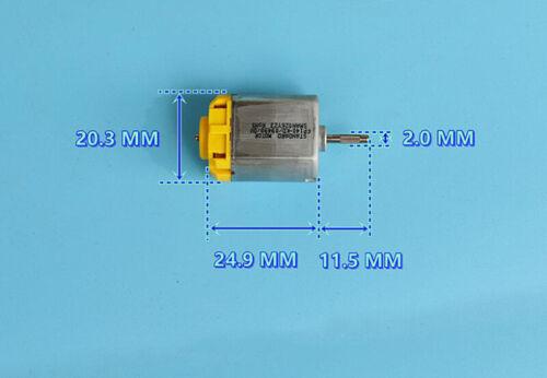Standard Motor FP140-KD DC 12V 24V 20mm Mute Car Door Lock Rearview Mirror Motor