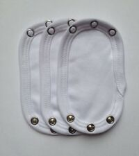 New Baby Bodysuit / Vest Extender 100% Cotton, 10cm X3