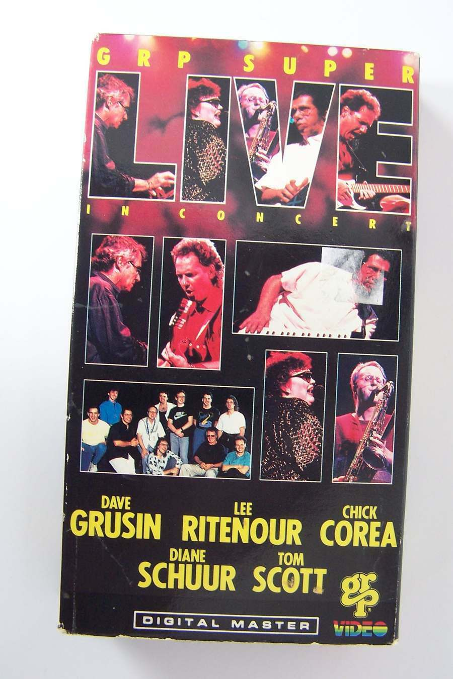 Grp Super Live in Concert VHS Video Music Tape Chick Co