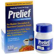 Prelief Acid Reducer Dietary Supplement Caplets 120 Each 109f