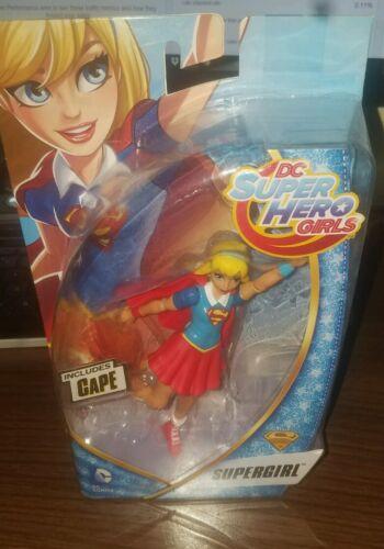 "DC Super Hero Girls SUPERGIRL 6/"" Figure NEW 2016 IN HAND VHTF Mattel DC Comic"