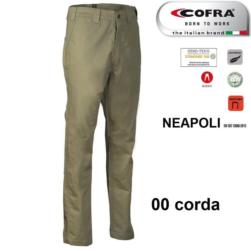 Immagine 5 - Pantaloni da lavoro COFRA modello NEAPOLI edilizia industria logist 100% cotone