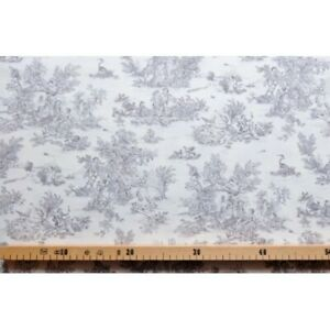 Fabric-by-the-metre-toile-de-jouy-mini-pastoral-small-grey-fd-ivory