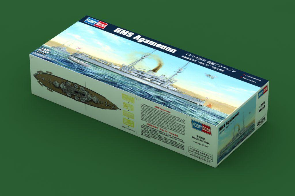 Hobbyboss 86509 1 350th scale HMS Agamenon