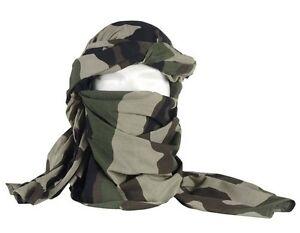 Cheche-coton-camouflage-C-E-etat-neuf-foulard-echarpe-camo-centre-europe-armee