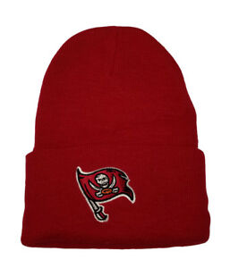 NFL-Beanie-Tampa-Bay-Buccaneers-Red-Cuff