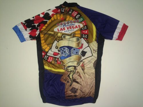 M New size Medium LAS VEGAS Nevada Road Bike MTB Cycling Jersey
