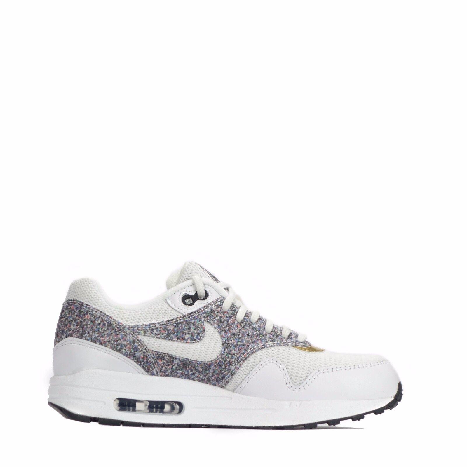 Nike AIR MAX MAX MAX 1 se Scarpe Donna Bianco Nero f38301