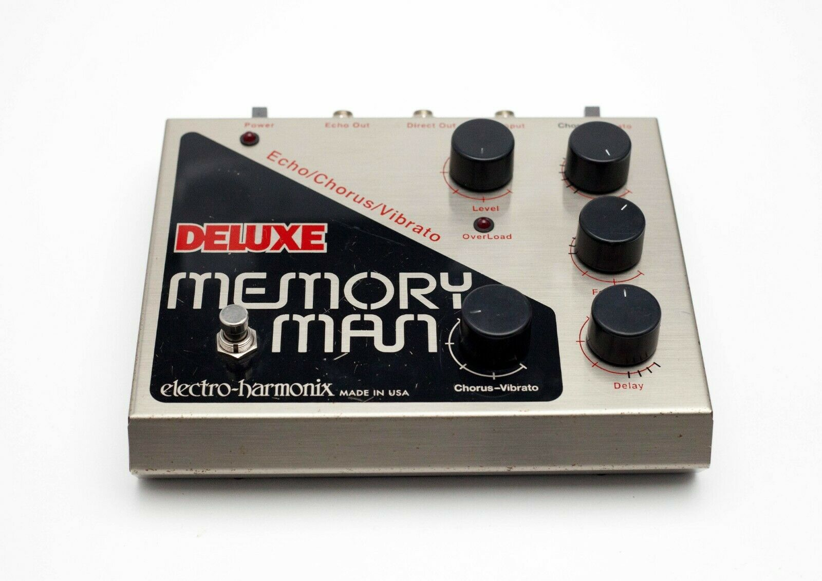 Electro Harmonix Deluxe Memory Man MN3008  Big Box Reissue With Power Supply