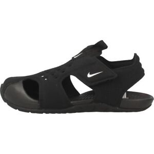 Nike Infant   Toddler s SUNRAY PROTECT 2 TD Sandals Black White ... bd1dad210