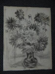 Dibujo-Original-a-Lapiz-Naturaleza-Muerta-Firmada-Luis-Goiffon