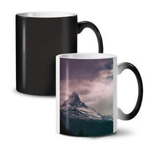 Mountain Cloudy Nature NEW Colour Changing Tea Coffee Mug 11 oz | Wellcoda