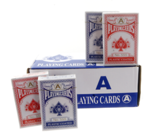Bulk Professional Plastic Coated Playing Cards in 12 24 48 96 /& 240