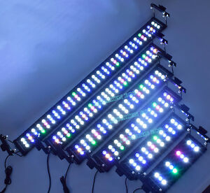 aquarium licht led beleuchtung volles spektrum f r koralle pflanzen meerwasser ebay. Black Bedroom Furniture Sets. Home Design Ideas