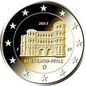 Allemagne 2017 monnaie: D porte- Nigra della ville di Trèves
