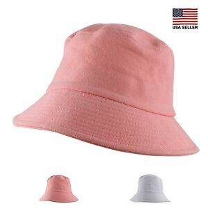 86c63dcbdd9 Details about Womens Mens Unisex Spring Summer Year Round Casual Packable Pastel  Bucket Hat