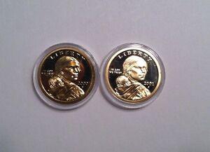 2000-S-and-2001-S-Gem-Proof-Sacagawea-Dollars