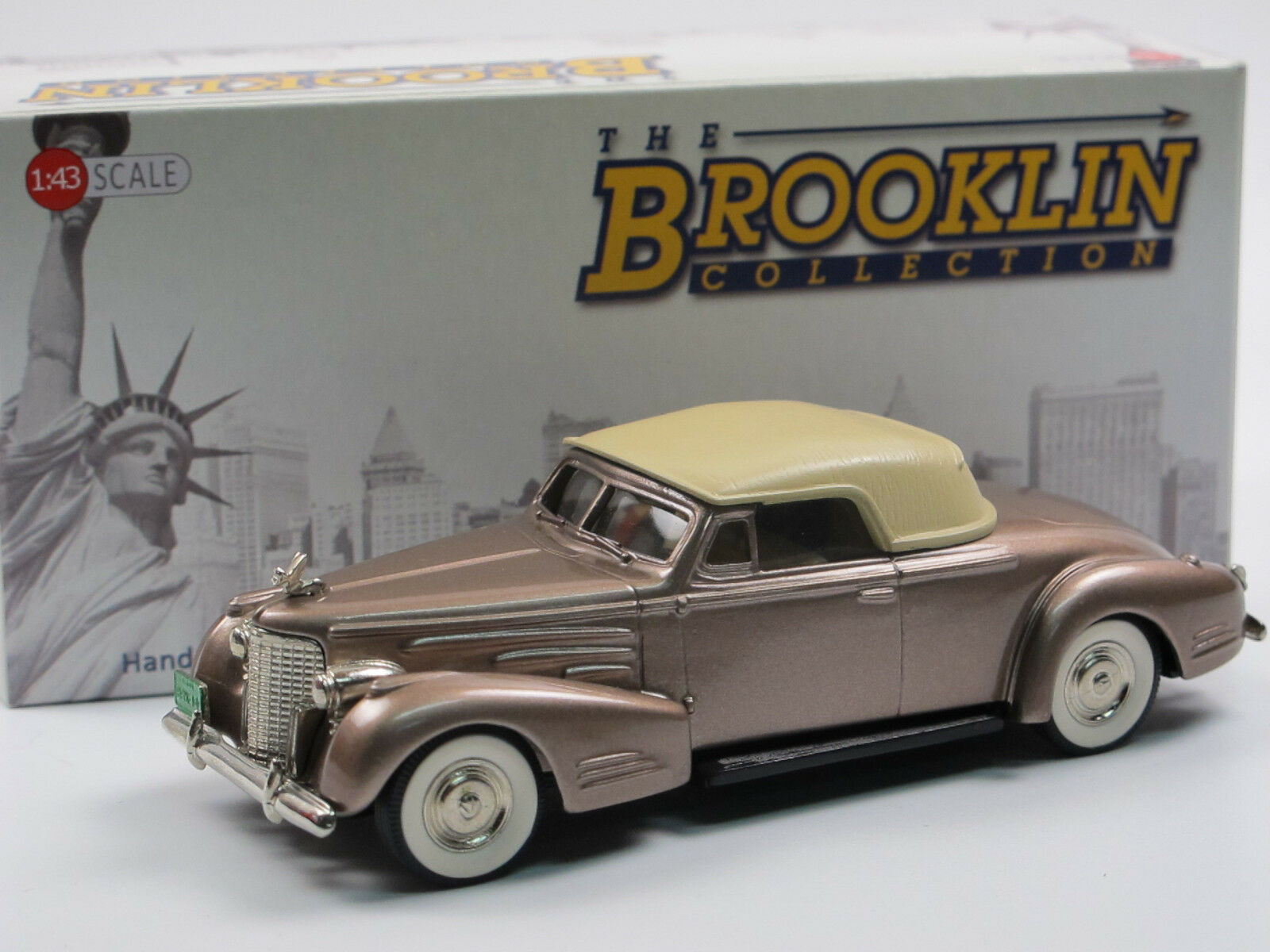 Brooklin models BRK 14 1940 ILLAC v16 Convertible Coupe Bronze Metallic 1 43