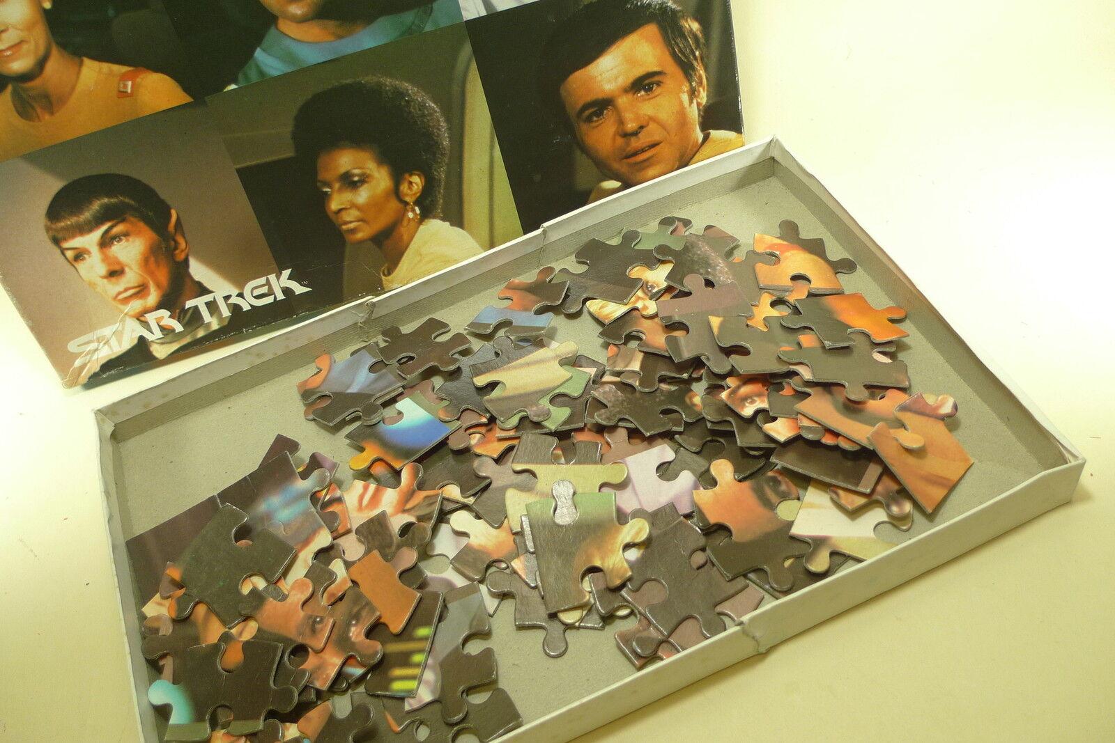 STAR TREK. ARROW PUZZLES    (complet) Vintage  1979.  (complet)  567227