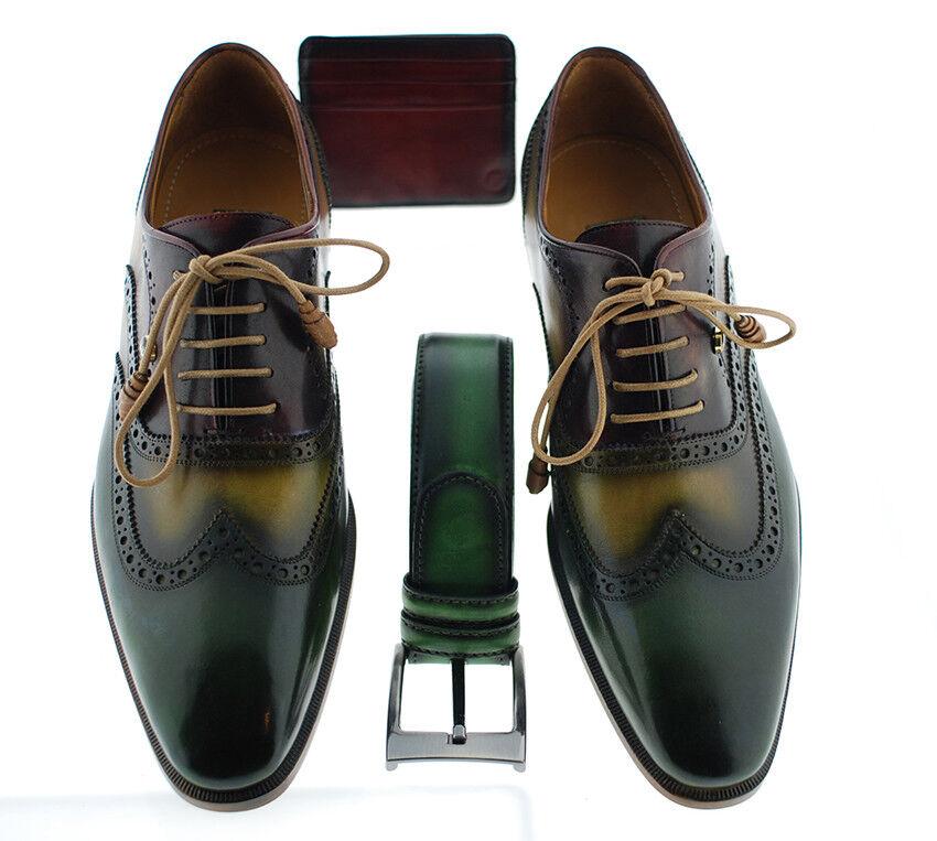 Plein Richelieu à Luxe Classique Chaussures (Ernest) Multi couleur