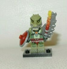 New lego crocodile warrior 2 from set 70231 legends of gold loc123
