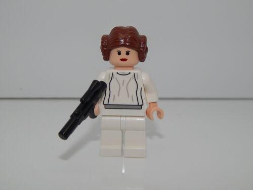 Lego Minifigure Star Wars Episode 4//5//6 Princess Leia With Blaster Gun