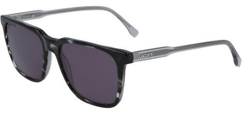 L910S 215 Lacoste Men/'s Havana//Grey Classic Square Sunglasses