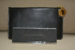STELLA-McCARTNEY-Vegan-Leather-Glasses-Case-Pouch-Make-up-Bag-Card-Holder
