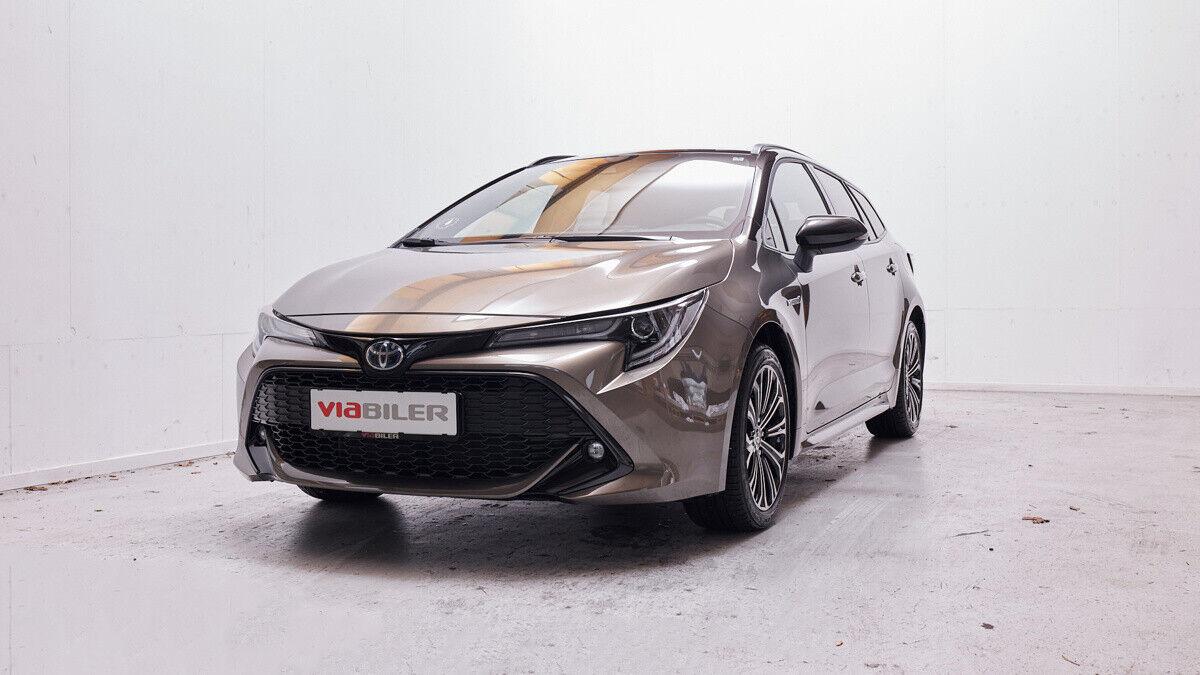 Toyota Corolla 1,8 Hybrid H3 Premium Touring Sports MDS 5d - 299.900 kr.