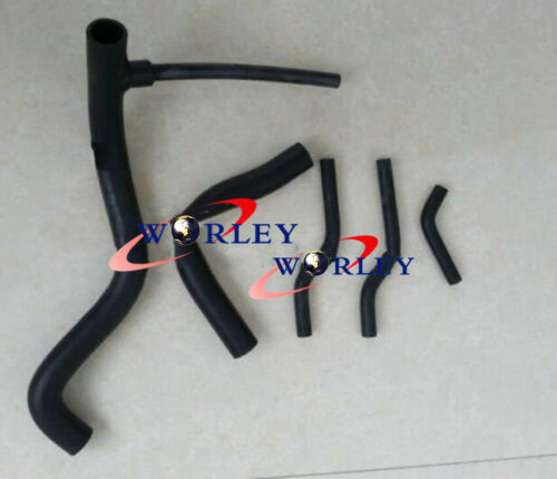 Black silicone radiator hose for MG MGB GT ROADSTER 1.8 1976-1981 1977 1978 1979