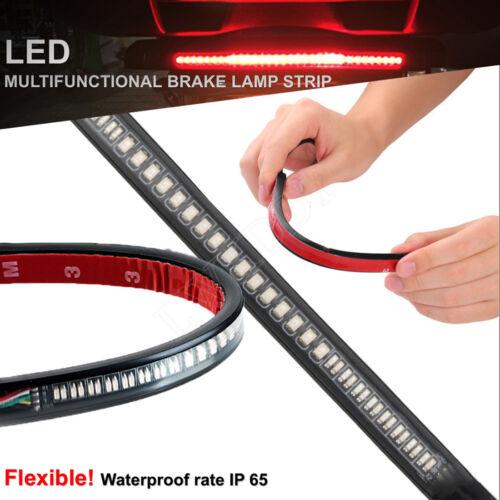 48 LED Strip Tail Brake Light For Yamaha VStar 650 950 1100 1300 Classic Stryker