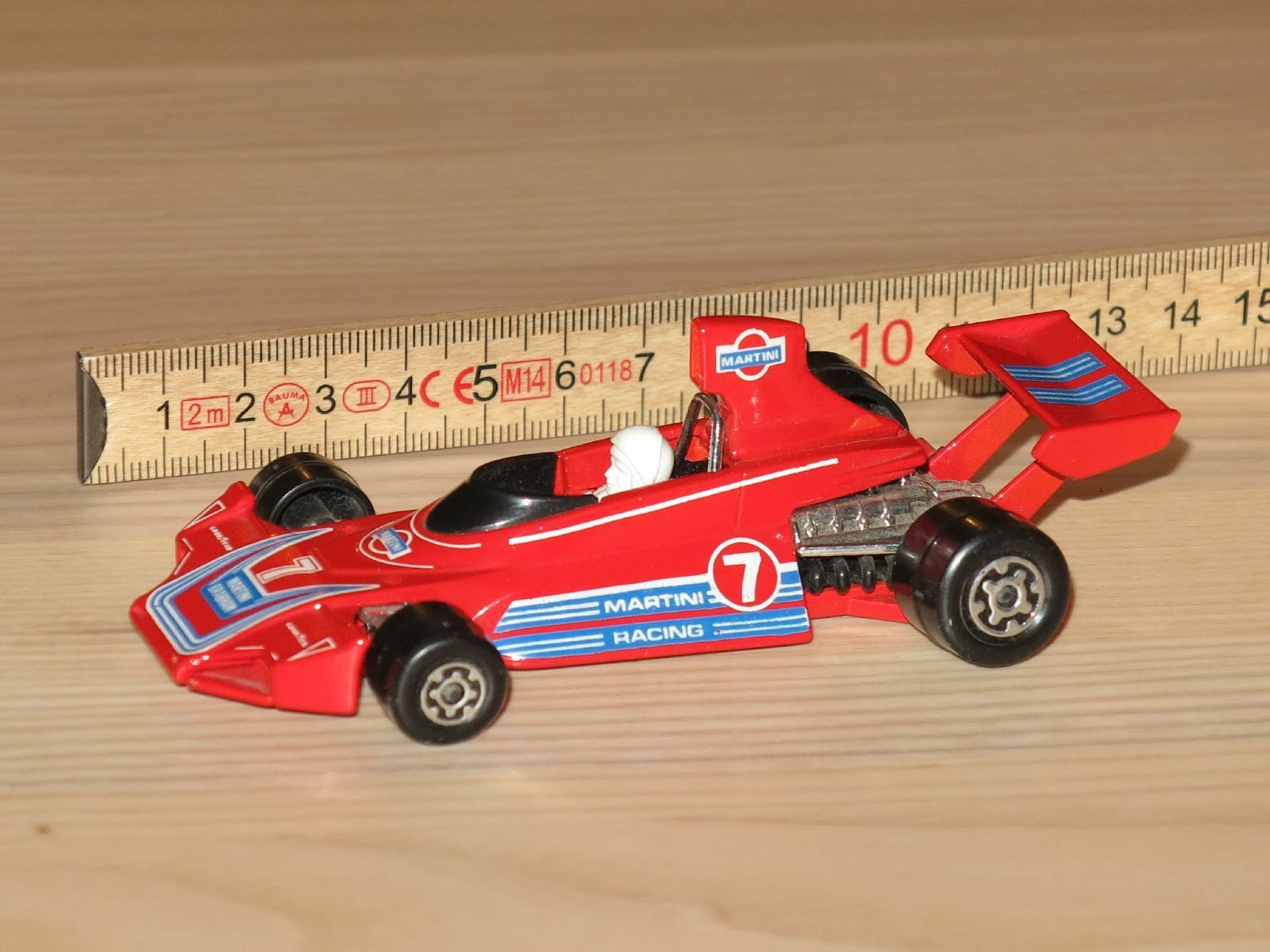 Matchbox Speedkings K-41 Brabham BT44B Martini Von 1976 en Muy Buen Estado