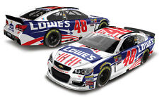 2016 JIMMIE JOHNSON #48 LOWE'S SALUTES 1:64 ACTION NASCAR DIECAST IN STOCK
