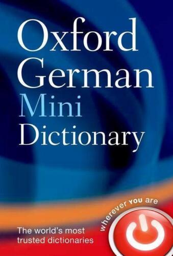 1 von 1 - Oxford German Minidictionary von Oxford Dictionaries (2011, Kunststoffeinband)