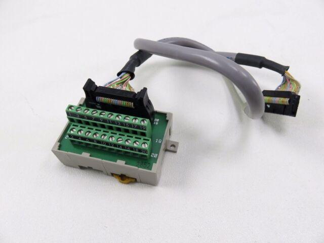 OMRON XW2B-50X5 TERMINAL BLOCK UNIT