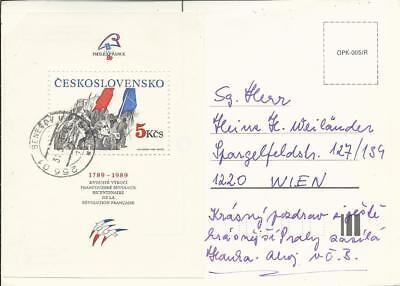 10 Stück Kuverts U.karten Tschechoslowkei Modischer Stil; In