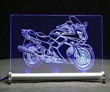 FJR 1300 als Gravur auf LED Leuchtschild FJR1300 bike