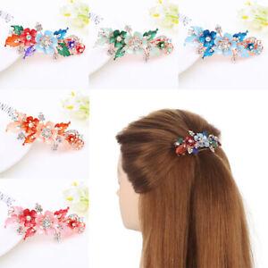 Hair-1PC-Headwear-Flower-Floral-Hairpins-Barrette-Lot-Resin-Barrettes-Cute-Clips