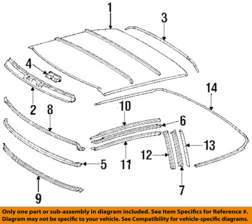 Convertible//soft Top-Weatherstrip Seal Right 1297701698
