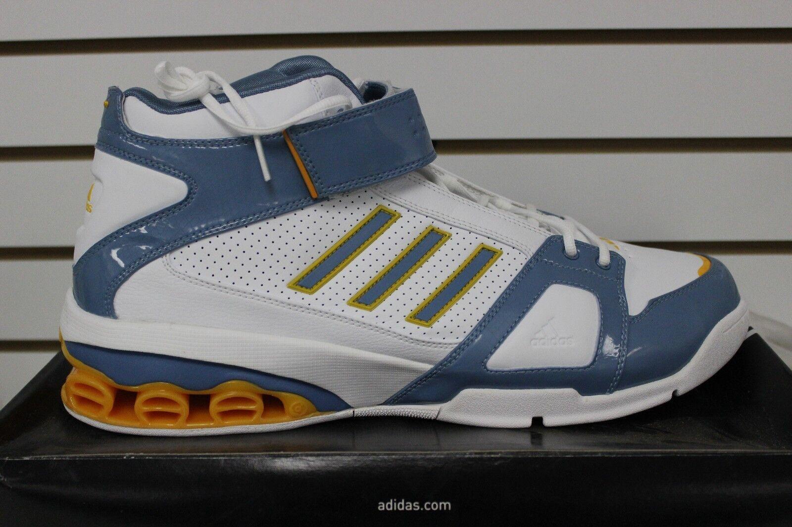 männer adidas ast nba j-smoov / josh smith basketball weiß / j-smoov blau / gold 667508 93b60a