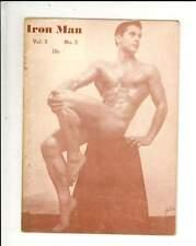 1942/1943 The Iron Man Ironman Magazine Vol 5 No 3 Howard Eastman Cover