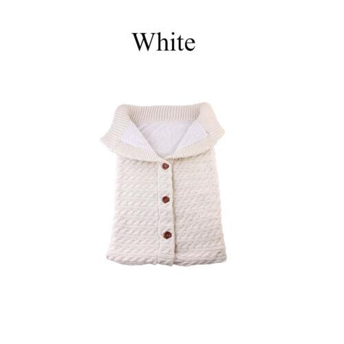 le sac de couchage la literie bébé emmaillote knited couverture poussette