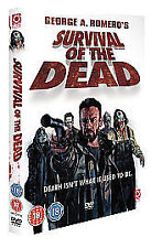 SURVIVAL OF THE DEAD DVD GEORGE A ROMERO ZOMBIES