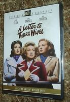A Letter To Three Wives (dvd, 2005), & Sealed, Region 1, Oscar Winner, Rare