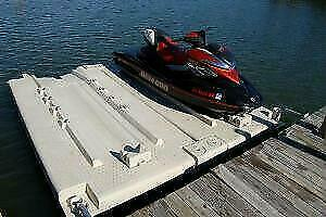 Quai flottant pour 2 Moto Marine (SEA DOO) Laval / North Shore Greater Montréal Preview