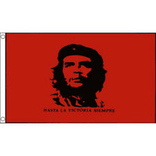 Che Guevara Large Flag 8Ft X 5Ft Cuba Cuban Rebel Festival Banner With 2 Eyelets