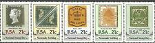 Südafrika - Tag der Briefmarke Fünferstreifen postfrisch 1990 Mi. 795-799